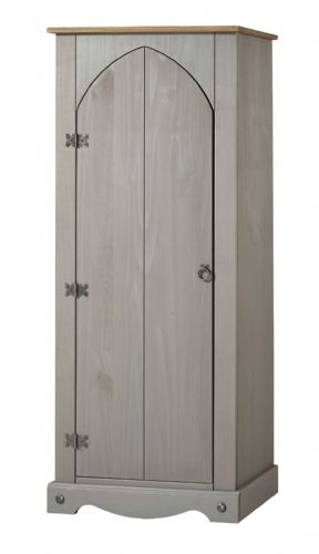 Premium Grey Wash Corona Vestry Cupboard